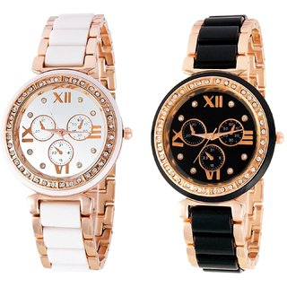 AKAG COMBO deals Analogue Watch For womens And Girls - AK-bgl-co