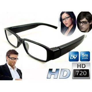 3-WISE MEN 720HDP Glasses Spy Hidden Camera