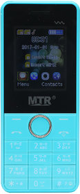 MTR MTS5MINI DUAL SIM MOBILE PHONE IN BLUE AND WHITE CO
