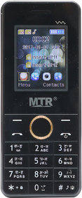 MTR MTS5MINI DUAL SIM MOBILE PHONE IN BLACK GREY COLOR