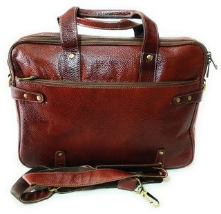 LEATHER LAPTOP BAGS  100  OG GENUINE LEATHER