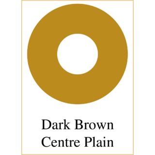 CONTACT LENS FOR DAMAGE EYES EYE PROSTHETIC LENS A210dark brown centre white PLAIN