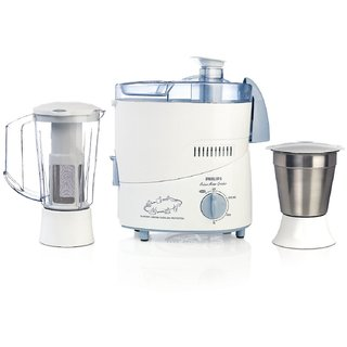 Philips HL1631 500-Watt 2 Jar Juicer Mixer Grinder (Blue)