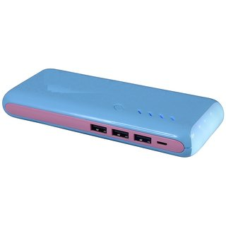 ama 1307 fast charging 15000 mah power bank blue