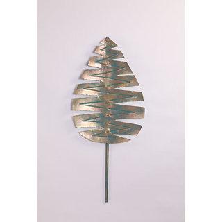W-Palm leaf Silver