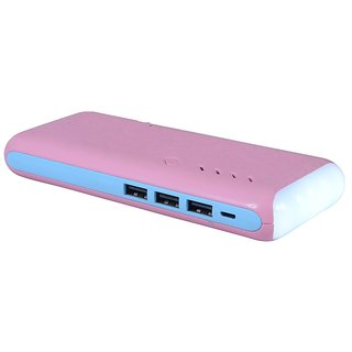 ama 1307 fast charging 15000 mah power bank PINK