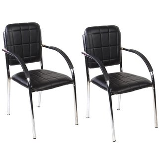 ATHARVO VISITOR CHAIRS 118  SET OF TWO
