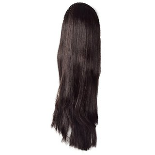 Tahiro Brown Natural Hair Wig For Girls - Pack Of 1