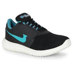Smartwood Men Black C Green Sport Training Shoes