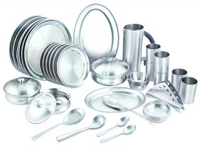 32 pcs premium quality stainless steel dinner set