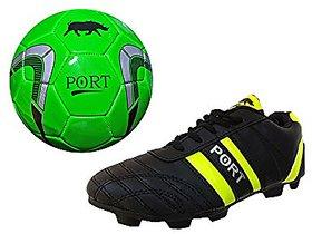 Port Green THK football shoes