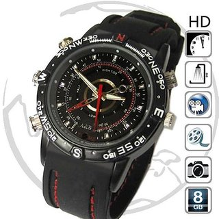4GB Sports Spy Watch Camera