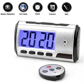 Full HD 1080P mini Digital spy clock camera security hidden camera