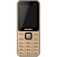Salora KT24+ Zing Plus (Dual Sim) Gold (Big 3 Led Torch