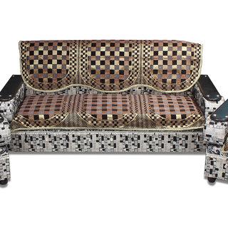 Furnishing Zone 3 Seater  Velvet  Sofa Cover 3FZSCSSC015