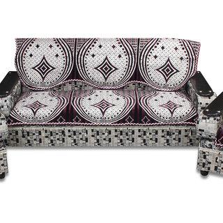 Furnishing Zone 3 Seater  Velvet  Sofa Cover 3FZSCSSC017