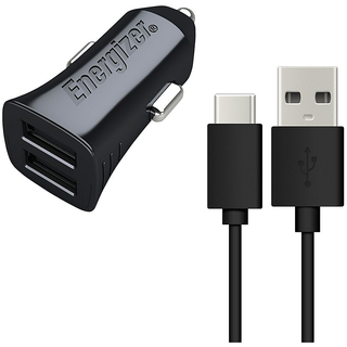 1x 2 USB Ports Car Charger 1x USB ? Type C Cable