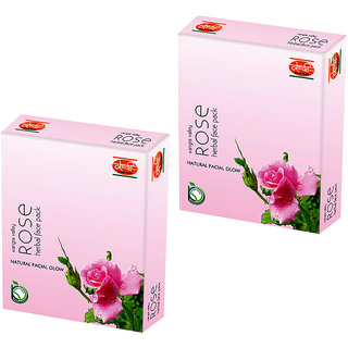 Rose Face Pack  (Pack of 2)