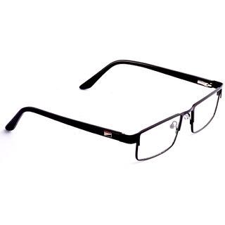 688d0dbf91a Buy Yitchoi Black Medium Half Rim Square frame DKB Online   ₹429 ...
