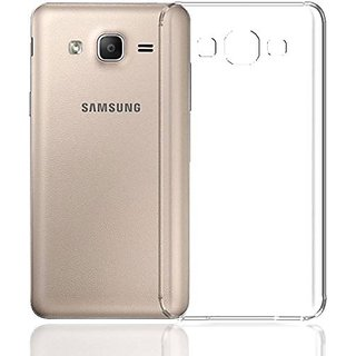 cheaper 3af0d 4050f Buy for Samsung Galaxy J2 2015 Transparent Back Cover, Anti Slip ...