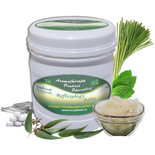 ecoplanet Aromatherapy Reflexology Foot Massage Balm 1 Kg For Cramp Pain Relief
