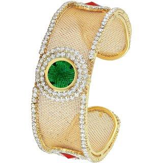 Asmitta Jewellery Gold Plated Gold Alloy Kadas For Women