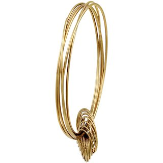 Asmitta Jewellery Gold Plated Gold Zinc Bangles For Women