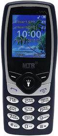 MTR MT1102 DUAL SIM MOBILE PHONE IN BLUE COLOR