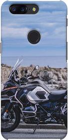 oneplus 5T designer printed back case/One plus 5T/1+5T/BMW Bike