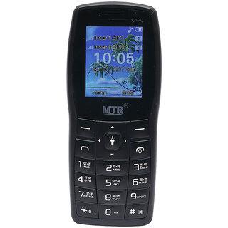 MTR MT 1101 DUAL SIM MOBILE PHONE IN BLACK COLOR
