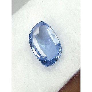 Jaipur Gemstone Blue Sapphire Ceylon Mined / Neelam Gemstone 9.25 ratti original certified natural stone
