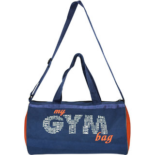 456717492c Buy L AVENIR MY GYM BAG Duffle Bag - Blue Orange Online   ₹299 from  ShopClues