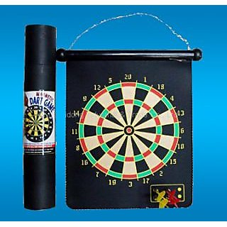 2 side Magnetic dart board dart games magnetic from ideals