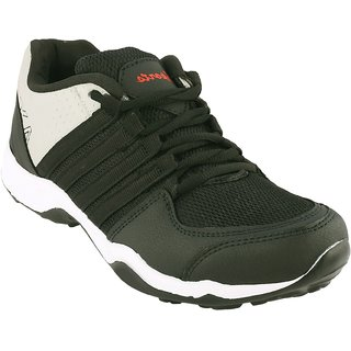 Clymb Eva Dangal Black Grey Running Sports Shoes For Mens In Various Sizes