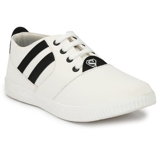 e4a3826d302a Buy Vinod Shoe White Lace Up For Men Online   ₹999 from ShopClues