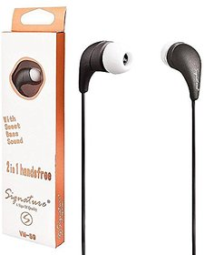 Signature VM-59 UNIVERSAL HANDSFREE Wired Headphones with mic
