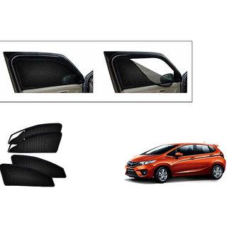 Autonity Magnetic Zipper Curtain Car Sunshades Set Of 4-Honda Jazz