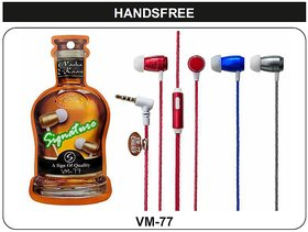 Signature VM-77 In-Ear wired Headphone Headset with Mic