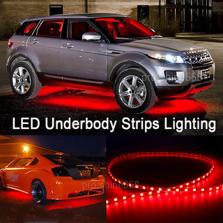 Car Underbody 5 Metres Red LED Strip Light For All Cars - Works With All Cars