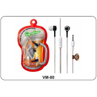 Signature VM-80 In Ear Fun Pouring Wired Handfree with mic