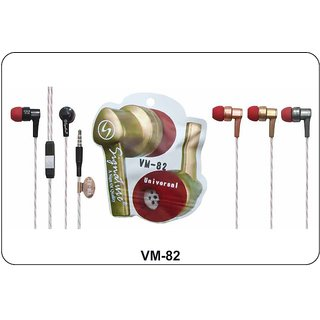 Signature VM-82 In ear Wired Earphone with Mic