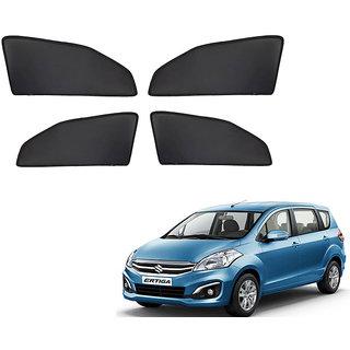 Autonity Z Black  Magnetic  Curtain Car Sunshades Set Of 4-Maruti Suzuki Ertiga