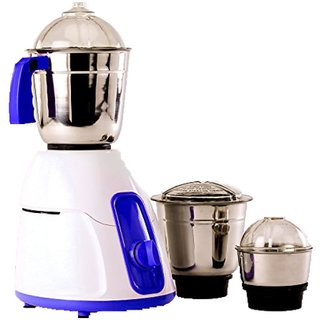 BMS Lifestyle Blue 550 Watt 3 Jar Mixer Grinder