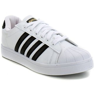 Sparx Mens White Original Casual Canvas shoes for men