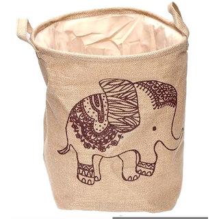 BMS Lifestyle Set of 1 20 L+ Laundry Bags Beige
