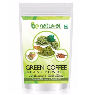 Be Natural Organic Green Coffee Beans Flavored Powder For Weight Management - 100 Gram (Pack Of 1)