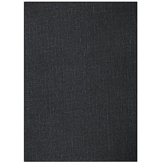 Dear Man GWALIOR SUITINGS Mens Synthetic Trousers Fabric (Black) Measure-1.25Metre
