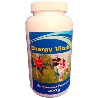 Hawaiian Herbal Energy Vitality Powder 200 Grams(Buy 1 Energy Vitality Powder Get 1 Same Drops Free)