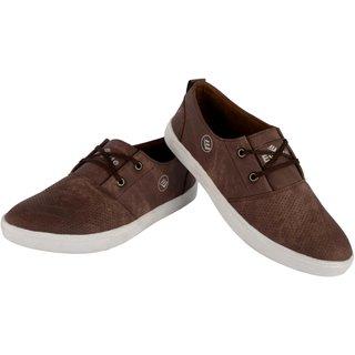 Buy Evolite Brown Stylish Sneakers