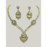 American Diamond And Cubic Zirconia Necklaces- 67042